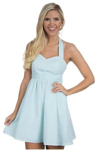 Lauren James short dress Mint Green / White on Tradesy