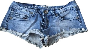 D-Fuz Denim Shorts-Distressed