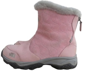 The North Face pink Boots