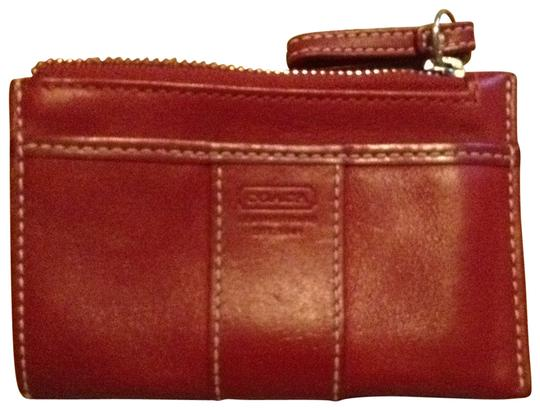 Preload https://item1.tradesy.com/images/coach-red-small-coin-purse-wallet-195800-0-0.jpg?width=440&height=440