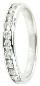 Other 0.60 Carats total Diamonds one row white gold ring