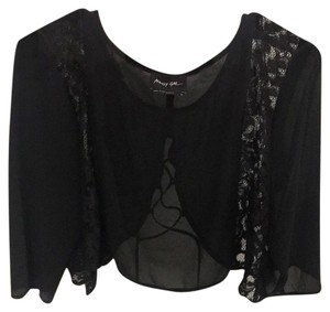 Nasty Gal Top Black crop