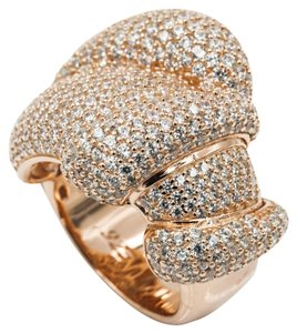 Other ROSE GOLD PLATED .925 STERLING SILVER CUBIC ZIRCONIA RING