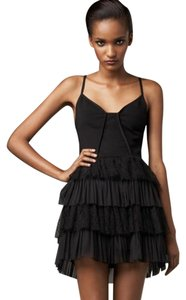 Camilla and Marc Lace Tiered Bustier Padded Dress
