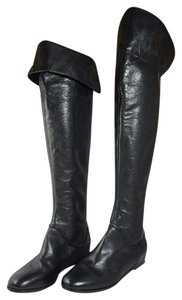 Via Spiga Over Teh Knee Leather black Boots