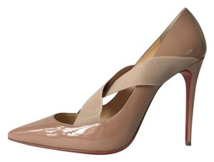 Christian Louboutin Sharpstagram Nude Pumps
