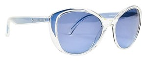 Dolce&Gabbana Dolce Gabbana Light Blue Clear Frame Cateye Sunglasses