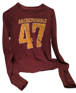 Abercrombie & Fitch Af & Long Sleeves Sweatshirt
