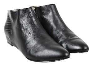 Elizabeth and James Leather Black Boots