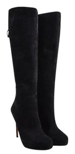 Gucci Suede Leather Black Boots