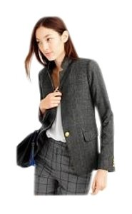 J.Crew black/plaid Blazer