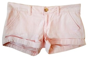 Abercrombie & Fitch Cuffed Shorts Light Pink