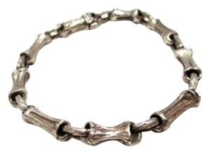 Tiffany & Co. Authentic Tiffany & Co. Rare Sterling Silver Bamboo Fragment Bracelet