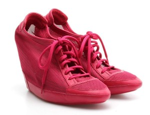 adidas pink Wedges