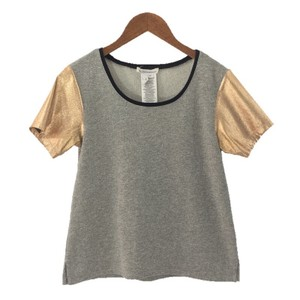BCBGeneration Metallic Color-blocking Sweater