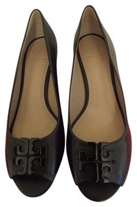 Tory Burch Wedges Black Flats