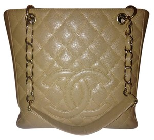 Chanel Shopping Tote in Beige