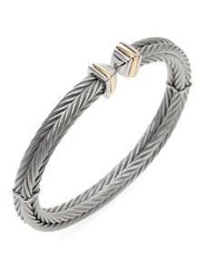 Alorna Alor ~ Stainless Steel Cable Bracelet ~ New ~