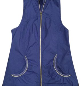 Lululemon Blue Run Sprinkler Record Breaking Vest