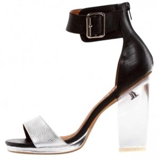 Preload https://item2.tradesy.com/images/jeffrey-campbell-silver-clear-black-soiree-sandals-size-us-8-195811-0-0.jpg?width=440&height=440