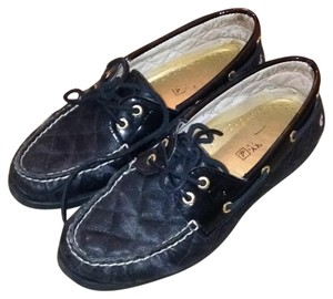 Sperry Boat Top Sider Black Flats