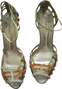 BCBGMAXAZRIA multi color Sandals
