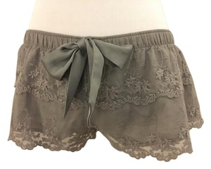 Abercrombie & Fitch Sleep Mini/Short Shorts Gray