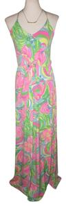 $125 NWT Size XS Maxi Dress by Lilly Pulitzer Rosa Free Shipping