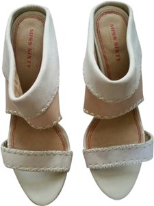 Miss Sixty Off White Wedges