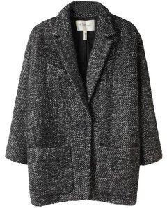 toile Isabel Marant Xaviar Coat grey Blazer