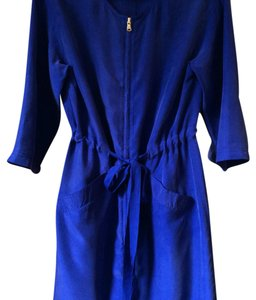 Marc by Marc Jacobs 100% Silk Dress in size:S short dress Blue on Tradesy