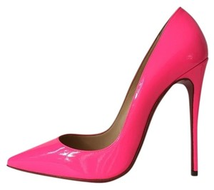Christian Louboutin So Kate Shocking Neon Pink Pumps