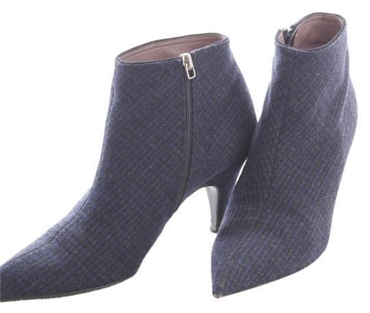 Miu Miu Ankle Ankle Ankle Gray, Navy, Black Boots