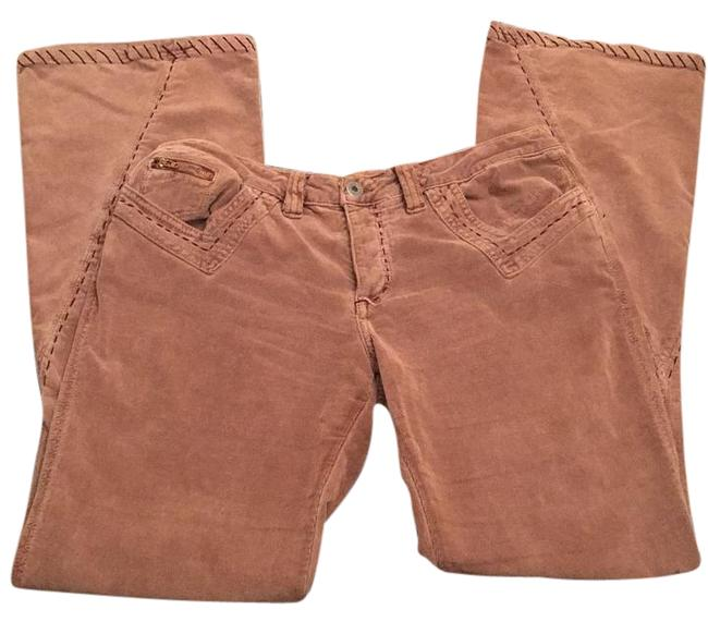 Item - Light Brown with Dark Brown Stitching Boot Cut Jeans Size 31 (6, M)