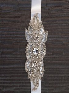Haute Bride Beaded Sash