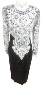 Naeem Khan 100% Gown White Dress