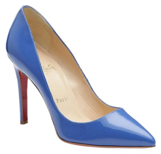 Preload https://img-static.tradesy.com/item/19582123/christian-louboutin-blue-pigalle-patent-leather-pumps-size-eu-375-approx-us-75-regular-m-b-0-2-540-540.jpg