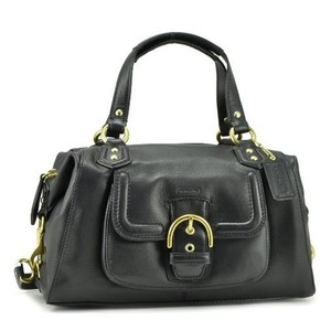 Coach Classy Simple Satchel in Black