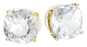 Kate Spade NEW Kate Spade Clear Crystal Studs - 12k GP Earrings