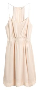 Madewell Silk Lined Delicate Sexy Pink Dress