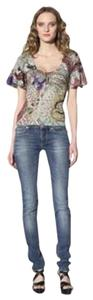 Just Cavalli Paisley Top
