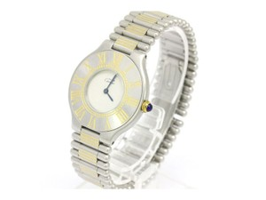Cartier Cartier Must de Cartier 21 Two Tone Stainless Mid Size Watch