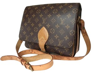 Louis Vuitton Speedy Signature Lv Cross Body Bag