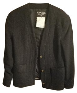 Chanel Vintage Blue Navy Blazer