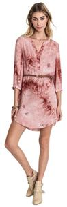 Umgee short dress Blush on Tradesy