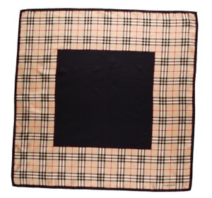 Burberry Black, beige Burberry Nova check plaid print scarf scarf