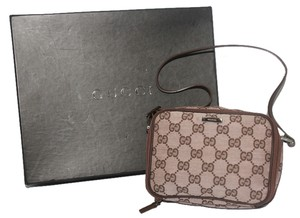 Gucci Pink / Brown Clutch