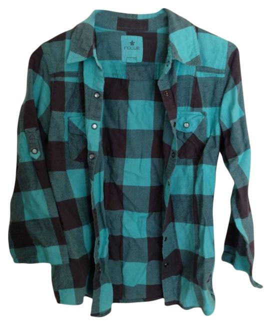 Nollie Button Down Shirt Aqua