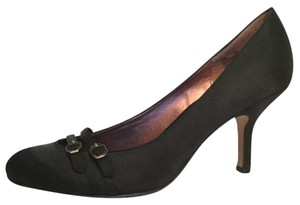 Sam & Libby Black Pumps