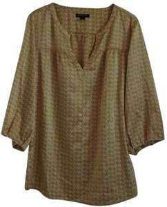 Banana Republic Top Yellow, pattern